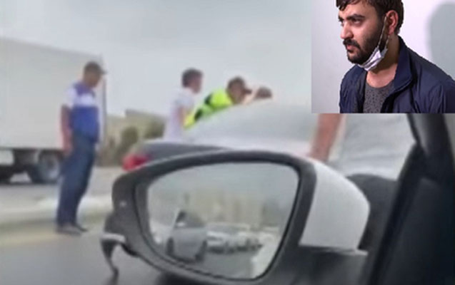 Polisdən qaçan sürücünün 6 yaşlı oğlu da yanında olub