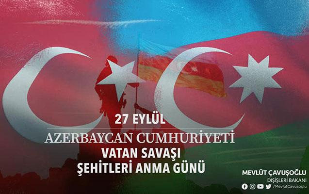 """""""Qarabağı Azərbaycana qovuşduran igid qardaşlarımıza salam olsun!"""""""