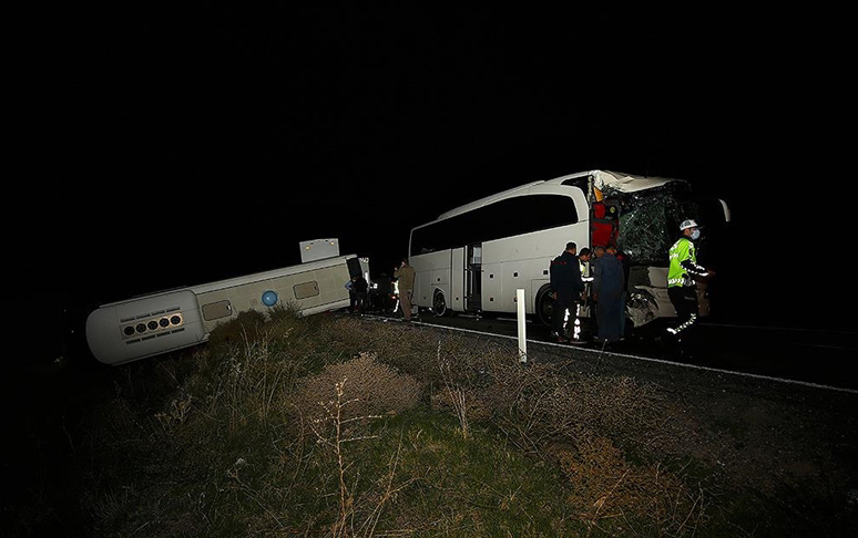 Türkiyədə şagirdləri daşıyan avtobuslar qəzaya uğradı, 44 yaralı