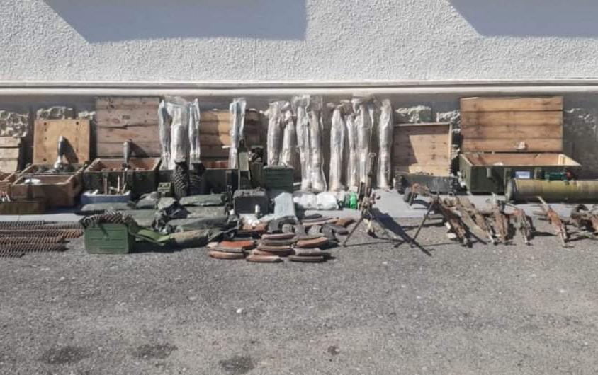 Düşmənin Füzulidə atıb qaçdığı silah-sursatın sayı açıqlandı