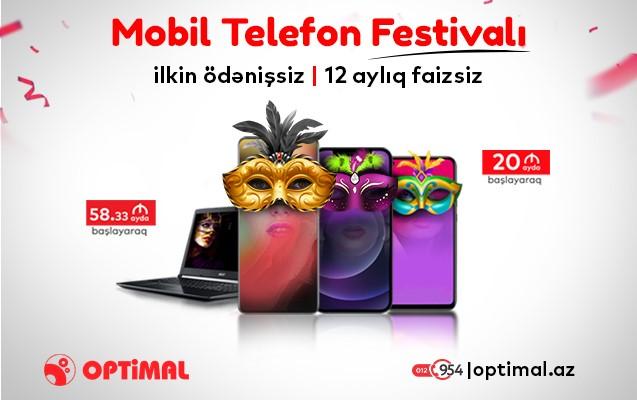 Optimalda Mobil Telefon Festivalı başladı!