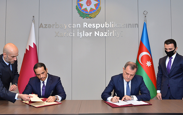 Azərbaycanla Qətər arasında viza tələbi ləğv edildi