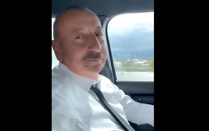 Mehriban Əliyeva İlham Əliyevin səmimi görüntüsünü paylaşdı